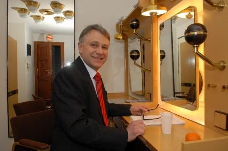 Antonín Procházka umí psát i hrát... FOTO ARCHIV
