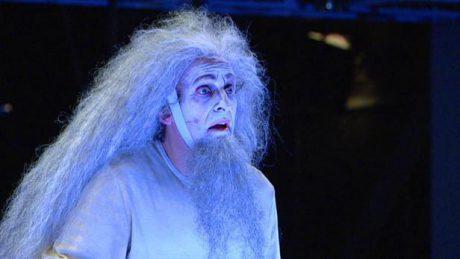 David Prachař v titulní roli Krále Leara v Národním divadle (r. Jan Nebeský). FOTO archiv