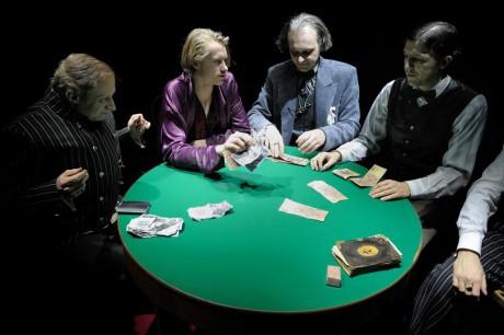 René Šmotek, Vlastimil Burda, Marek Cisovský a Albert Čuba u kalatého stolu... FOTO
