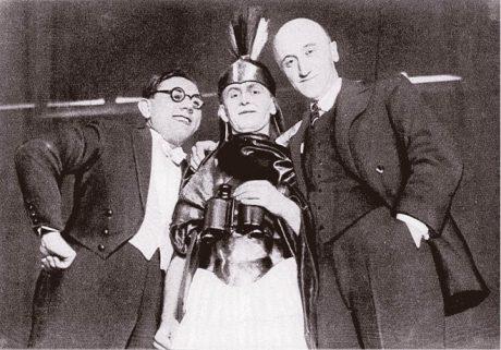 Jaroslav Ježek, Miloš Nedbal a Jindřich Honzl