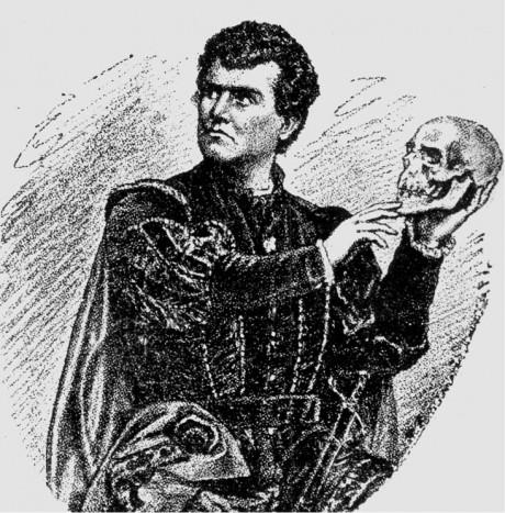 Karel Šimanovský jako Hamlet