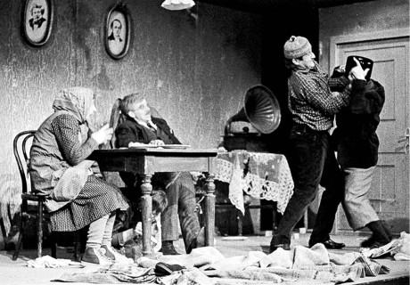Podivné odpoledne dr. Zvonka Burkeho, Činoherní klub 1966