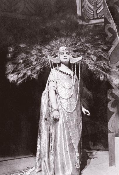 vtitulní roli opery Carla Goldmarka