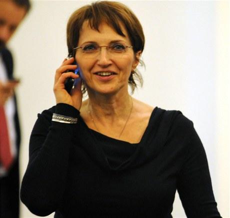 Ministryně kultury Mgr. Alena Hanáková. FOTO archiv