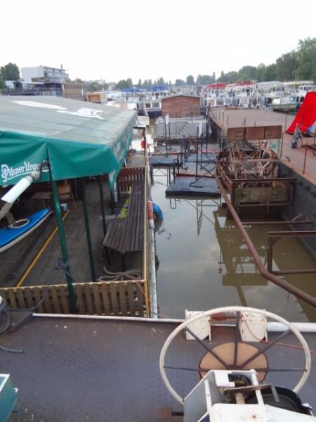 Aktuální pohled z lodi Tajemství. FOTO ZORA HUBKOVÁ