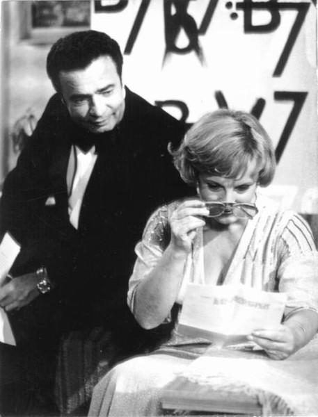 S Vladimírem Menšíkem uváděla v 70. a 80. letech TV cyklus Bakaláři. FOTO archiv ČT