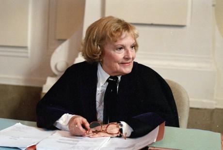 Naposledy jako herečka stanula před televizní kamerou v roce 1997, kde se v roli soudkyně, která rozvádí mladé manžele, objevila v příběhu Polobotky seriálu Na lavici obžalovaných justice (režie Martin Hollý). FOTO JIŘÍ ČERVENÝ