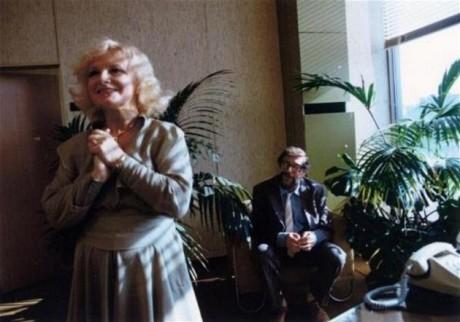 S Leošem Suchařípou ve snímku Věry Chytilové Faunovo velmi pozdní odpoledne (1983). FOTO archiv