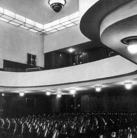 Původní interiér divadla. FOTO archiv BVV