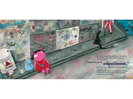 Ilustrátoři, autoři a překladatelé dětských knih byli 29. května oceněni Zlatými stuhami. Rovnou dvě si odnesl dobrodružný příběh Chrochtík a Kvikalka na cestě za blýskavým prasátkem, který zaujal ve výtvarné i literární části. Repro archiv