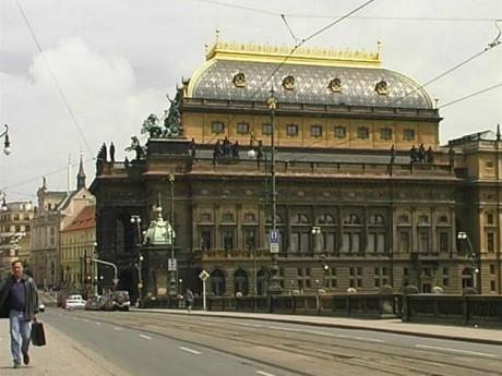 Historická budova Národního divadla. FOTO archiv