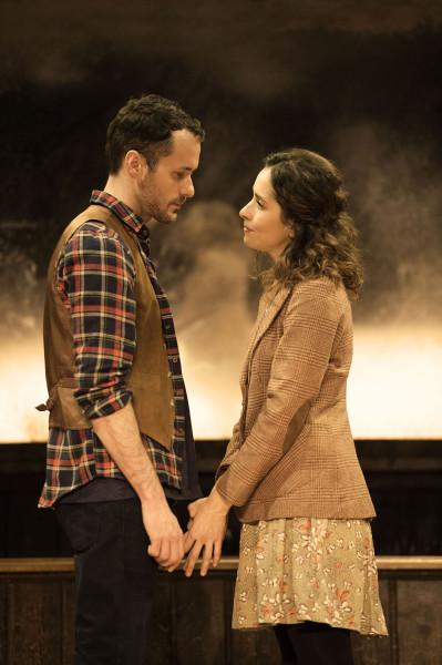 Declan Bennett (Guy) and Zrinka Cvitesic (Girl) in Once. Photo Credit