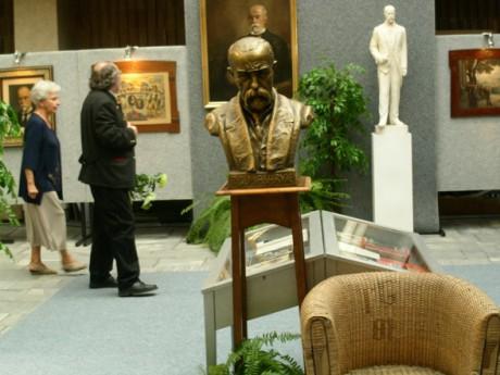 Busta TGM v Klatovech. FOTO archiv Jiřího Štancla