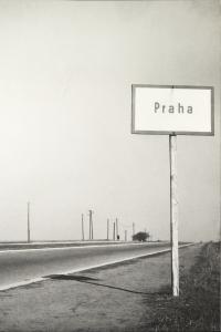 Miroslav Hák: Okraj Prahy 1947. FOTO archiv UMPRUM Praha