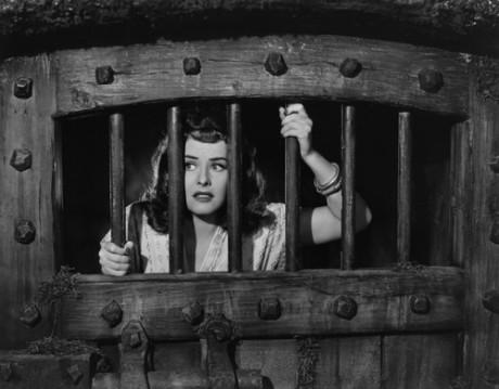 Paulette Goddard ve filmu The Lady Has Plans (1942). FOTO Classic Film Heroines