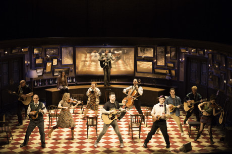The west end cast of Once. Photo Credit Manuel Harlan