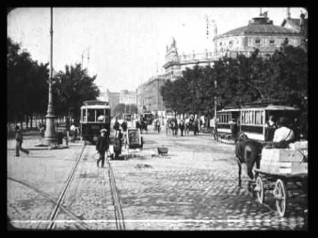 Vídeň 1914. Repro archiv
