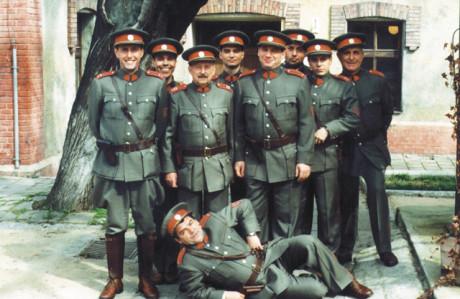 Seriál Četnické humoresky vznikal v roce 1997 převážně v prostorách brněnských studií České televize, četnická stanice je umístěna ve skutečných brněnských kasárnách. FOTO archiv
