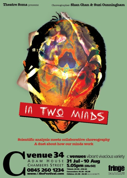 Edinburgh-In Two minds-poster
