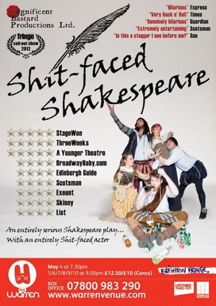 Edinburgh-Shift Shakespeare-poster