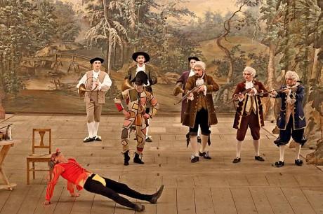 Naše kreace oživily a naplnily Vivaldiho Čtvero ročních dob maximálně.  FOTO archiv autora