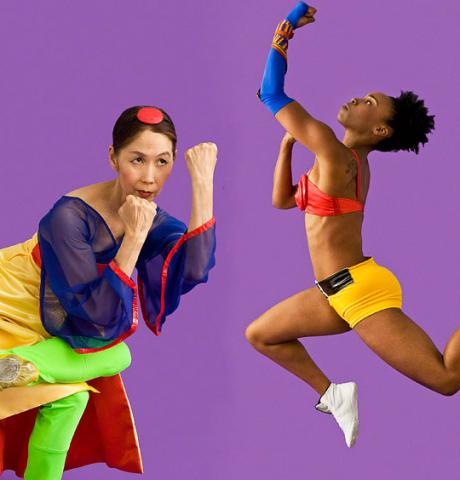 Peggy Choy s tanečníkem Janem Miyasakim. FOTO archiv