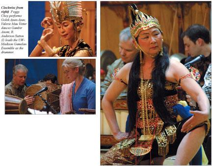 Plakát k přednášce o jávanském tanci. FOTO archiv