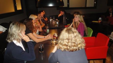 Debata s herci, v růžovém Henrieta Hornáčková_FOTO ABC