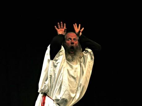 Sloveský mim Miro Kasprzyk a jeho Mime Show. FOTO ARCHIV FESTIVALU