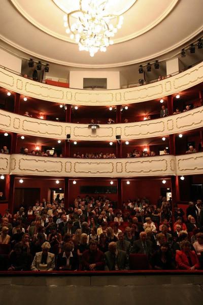 Hlediště Moravského divadla Olomouc. FOTO archiv MD Olomouc