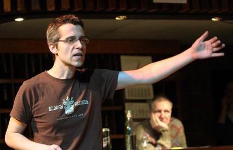 Režisér Michał Zadara během zkoušek. FOTO archiv