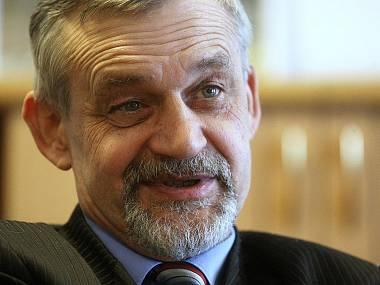 Třiašedesátiletý Ilja Racek je vystudovaný režisér na DAMU, působil jako šéf tel. studia v Ostravě, byl ředitelem Státního divadla Ostrava a v letech 2008 až 2011 náměstkem min. kultury. FOTO PAVEL SONNEK