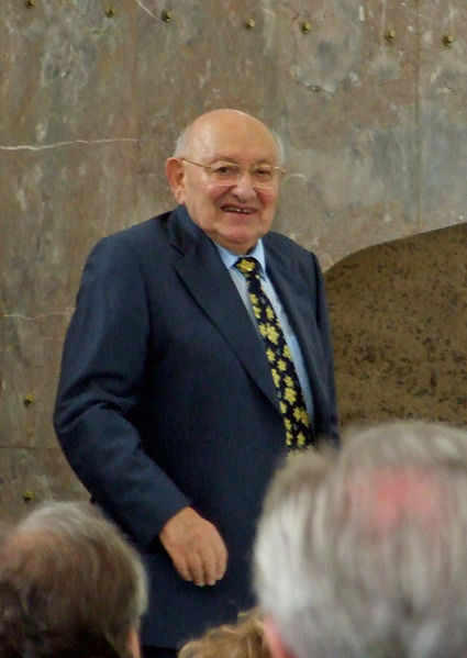V roce 2007 během předávání Boeme Preis. FOTO archiv