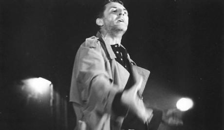 Martin Huba jako Bruscon v Divadelníkovi (r. J. A. Pitínský, Divadlo Na zábradlí Praha, prem. 1999). FOTO MARTIN ŠPELDA