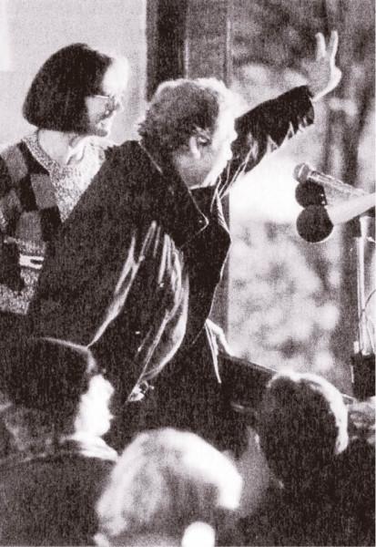 Marta Kubišová a Václav Havel