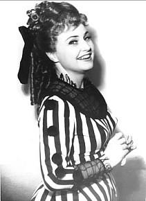 Sylvia Kodetová (nar. 1930) v roli Rosiny. FOTO archiv