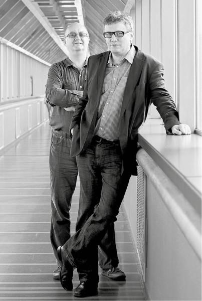 Zdeněk A. Tichý a Tomáš Motl