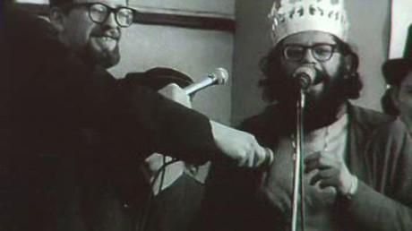 Allen Ginsberg, král pražského Majáles - 1. 5. 1965. FOTO archiv