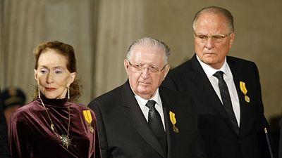 Soňa Červená, František Čuba a Jan Dvořáček. FOTO JAN HANDREJCH