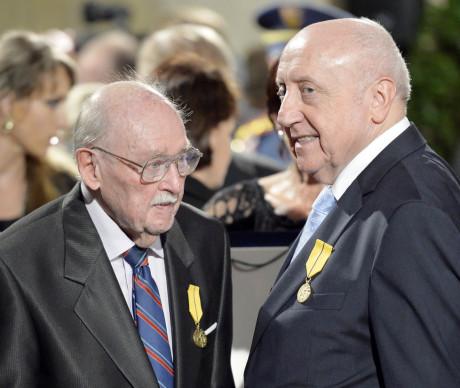 Lubomír Lipský a Felix Slováček. FOTO archiv
