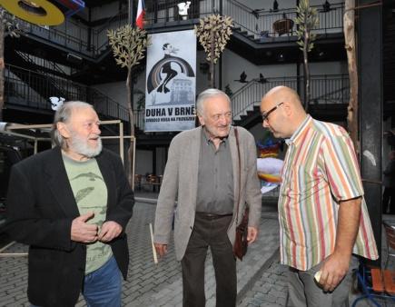 Jiří Pecha, Milan Lasica a Vladimír Morávek. FOTO archiv
