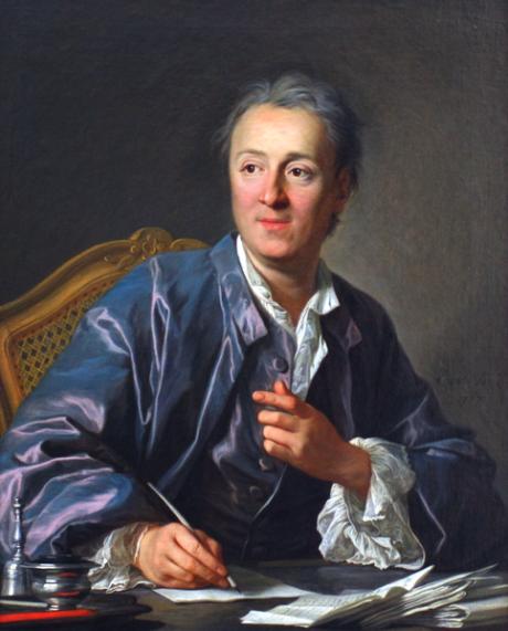 Portrét Denise Diderota (1713-1784) od Louise-Michela van Loo, 1767. Repro Wikipedie