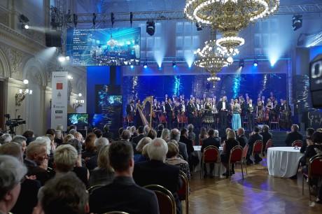 Závěrečný večer Golden prague na Žofíne. FOTO archiv ČT
