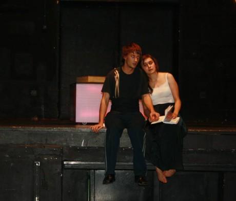 Hamlet a Ofélie. FOTO archiv Studia Marta