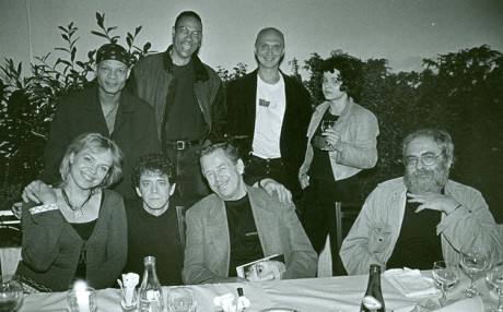 Na Pražském hradě po jednom z koncertů Lou Reeda v Praze. FOTO VLADIMÍR HANZEL