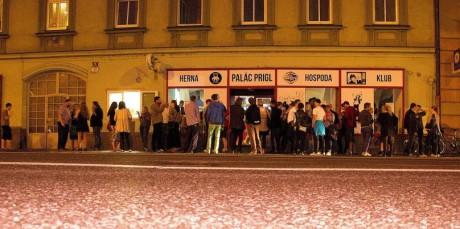 Restaurace Paláce Prigl byla pná. FOTO archiv