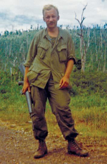 Manuel van Eyck alias Manuel František Vaněček, jižní Vietnam 1971. FOTO archiv
