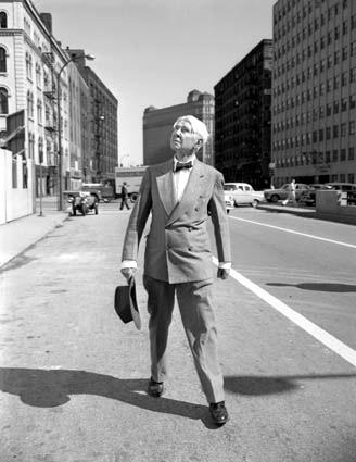 Sandburg v Chicagu, 1967. FOTO DAVE MANN