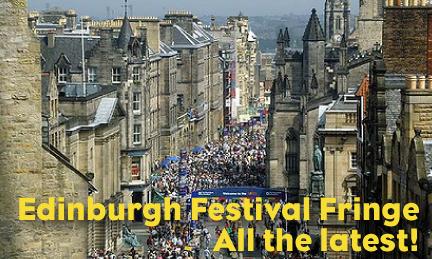 Snímek z letošního zahajovacího dne Edinburgh Fringe Festivalu 2. 8. 2013. FOTO archiv Edinburgh Fringe