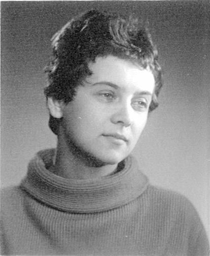Absolventka DAMU Helena Suchařípová (1958). Foto archiv Jany Patočkové